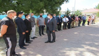 Hozat Kaymakamı Aydoğan göreve başladı