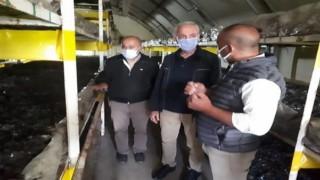 Isparta'da 24 aileye mantar üretimi desteği
