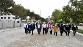 Ispartada Avrupa Hareketlilik Haftası için yürüdüler