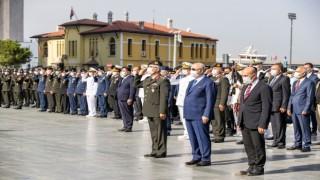 İzmirde Gaziler Günü töreni