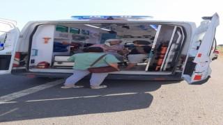 Kamyonet sürücüsü direksiyon hakimiyetini kaybetti: 3 kişi yaralandı