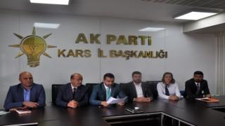 Kars AK Partiden 17 Eylül açıklaması