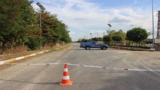 Kırklarelinde arazide bulunan el bombası imha edildi