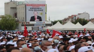 Kırşehirde Erdoğan heyecanı