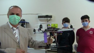 Liseli öğrenciler tasarladıkları insansız hava aracıyla finale göz kırptı