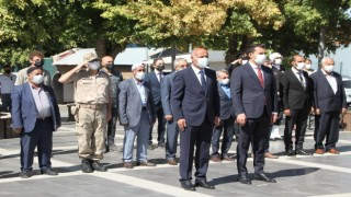 Malazgirtte Gaziler Günü dolayısıyla tören düzenlendi