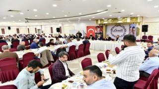 Mamak Belediye Başkanı Köse müteahhitler ile bir araya geldi