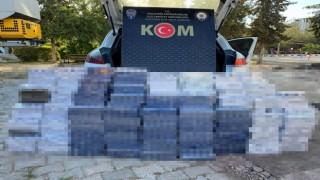 Mardinde 5 bin 240 paket kaçak sigara ele geçirildi