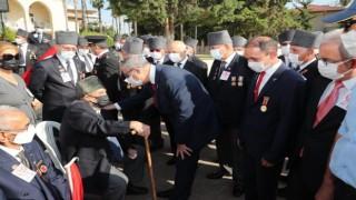 Mersinde Gaziler Günü törenle kutlandı