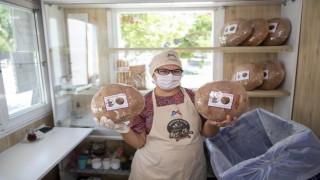 Mersinde yufka ve Girit ekmeği MER-EKte satışa sunuldu