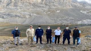 Meydan Yaylası ve Karagölde çevre temizliği