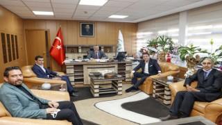 Milletvekili Aydemirden Bölge Müdürü Yavuza hayırlı olsun ziyareti