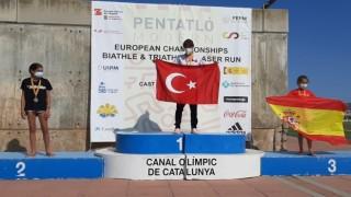 Milli pentatloncular, Biathle Triathle Avrupa Şampiyonasına damga vurdu