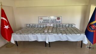 MİT ve jandarmanın ortak operasyonunda 189 kilo uyuşturucu ele geçirildi