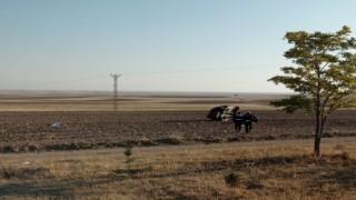 Nevşehirde otomobil şarampole devrildi: 1 ölü