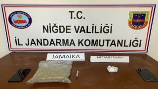 Niğdede 1 kilo Jamaika ele geçirildi