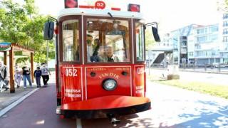 Orduda nostaljik tramvay keyfi