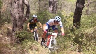 Ormanlık alandaki zorlu parkurda 85 sporcu kıyasıya mücadele etti