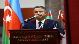 Rektör Elmacı, Azerbaycandaki 3. Uluslararası Turaz Akademi Kongresine katıldı