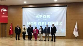 Rektör Türkmen, başkentte düzenlenen çalıştaya katıldı