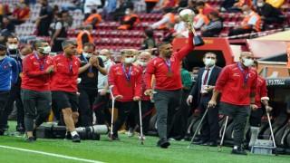 Şampiyon Ampute Futbol Milli Takımı, Galatasaray - Göztepe maçında