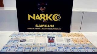 Samsunda satışa hazır uyuşturucuyla yakalandı