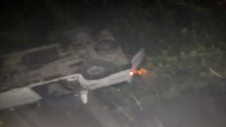 Samsunda tarım işçilerini taşıyan minibüs devrildi: 14 yaralı