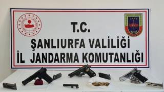 Şanlıurfada silah kaçakçılığı operasyonu: 2 gözaltı