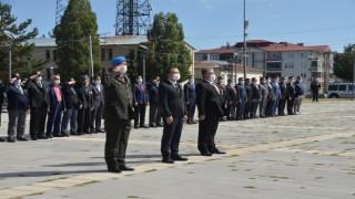 Sarıkamışta 19 Eylül Gaziler Günü törenle kutlandı