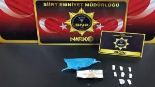 Siirtte uyuşturucu madde ticareti yapan 5 kişi yakalandı