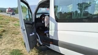Takviye gönderilen midibüs kaza yaptı, sürücü kurtarılmadı