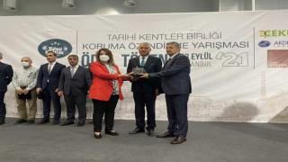 Tarihi Kentler Birliğinden Pamukkale Belediyesine ödül