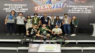 TEKNOFEST 2021 Uluslararası İHA Yarışmasından OMÜye iki ödül