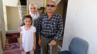 Terörle mücadelede iki gözünü ve bir ayağını kaybeden kahraman gazi 10 çocuk büyüttü