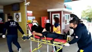 Yağışla gelen kaza: 3 yaralı