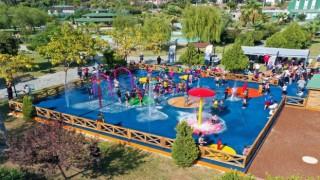 Yüreğirin ilk su oyun parkı açıldı