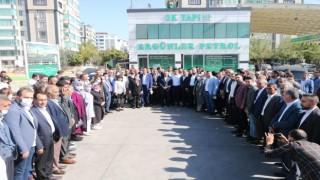 AK Partinin gönül köprüsü Erganide