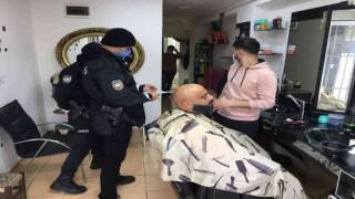 (Özel) Şişli polisinden iş yerlerine geniş kapsamlı denetim: 58 bin 980 lira ceza