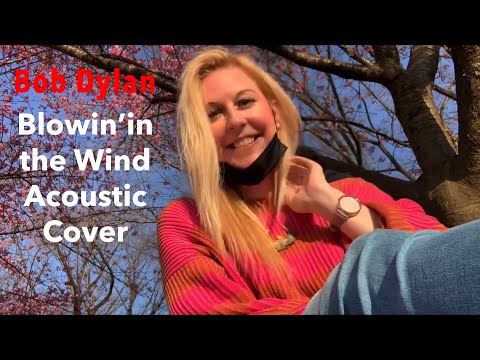 Bob Dylan - Blowin' in the Wind Acoustic Cover by Gabriella White and Katsu